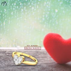 This monsoon, gift sparkling diamond jewelry to your loved ones. Shop Precious Jewellery on EMI and pay at ease! Jewelry Gifts, Jewellery, Sparkling Diamond, Jewelry Website, Shopping Stores, Monsoon, Diamond Jewelry, First Love, Rings