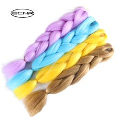 BCHR Jumbo Braids 24'' 100g/Hair For Russian Women 15 Colors Synthetic Braiding Hair. Yesterday's price: US $3.00 (2.45 EUR). Today's price: US $1.11 (0.91 EUR). Discount: 63%.