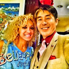With Vanusa Santiago @nusabrasil NO.1 Brazilian Samba dancer.  I've known her for over 1 year and now I feel very happy to be good friend with her . Do you like #matcha? I ama #master of #Japanese #zen #teaceremonywho have already entertained over 3000 guests by #tea #ceremony through my life. I am also only one #professional provider of#private tea ceremonyfor #traveller to Japan. When you visit Japan and wish a special #travel #experience of the deepest Japanese #traditional #culture you…