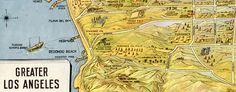 #map: #LosAngeles – the wonder city of America (1934)