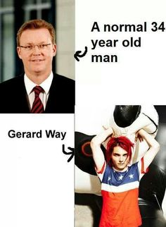 I swear to God. Gerard Way is a time lord. ^^^ rejoining cause of how awesome a MCR and Doctor Who crossover would've been!