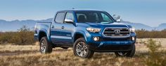 Limited Double Cab shown in Blazing Blue Pearl. Prototype shown with options. Production model may vary.