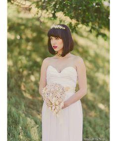 Our Favourite Brooch Bouquets #wedding #DIYwedding #handmade