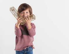 Jersey tricot corona fashion kids moda infantil niño niña