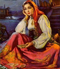 Cigana- ARTE- Muito   Bela......