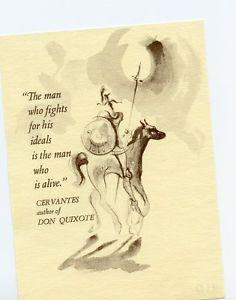 Cervantes, Don Quijote, Quijote, Ex Libris? libre gráfico, artista desconocido