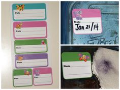 Date it! Labels from @mylovablelabels ~ #Review & #Giveaway
