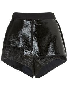 Black City Thunder Pleat Shorts | Ellery | Avenue32