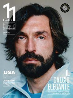 11 Undici - Un po' di pagine dal nuovo numero della rivista di calcio e cultura che esce oggi: con un'intervista ad Andrea Pirlo e un'altra a Kevin Strootman