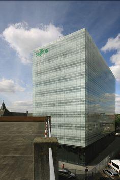 Edificio Epy Drost, Universidad Saxion, Enschede, Holanda - IAA Architecten