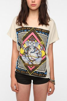 Urban Outfitters - Title Unknown Ganesh Tee