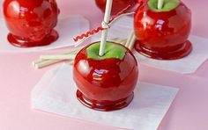 Foolproof Candy Apples. I have great memories of when my grandpa use to make them in Mexico to sell them door to door.