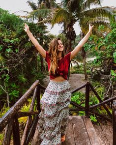Shop the Look from Michelle Madsen on ShopStyleWhen life gives you rain, dance in the puddles ✨ we didn't let the sto. Bohemian Mode, Bohemian Style, Boho Chic, Bohemian Clothing, Boho Outfits, Cute Outfits, Fashion Outfits, Fashion Tips, Fashion Styles