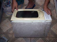 Maquina de solda caseira feita com microondas