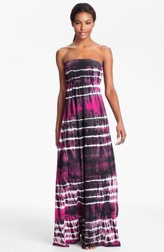 beachy love Hard Tail Long Strapless Dress available at Nordstrom