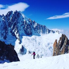 Skitouring up to Aiguille d'Argentière in Chamonix Alps, Mount Everest, Mountains, Nature, Travel, Naturaleza, Viajes, Destinations, Traveling