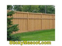 Amazing  Wood Fence Vector