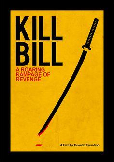 Kill Bill - Filmes | Posters Minimalistas
