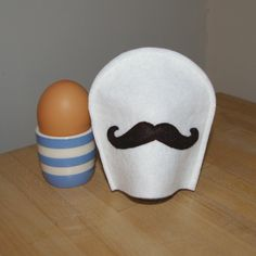 moustache egg cosy £4.50