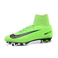 3abce7e502cba Buy Nike Mercurial Superfly V FG Black Green Football Boots. Zapatos De  FútbolBolasBotas ...