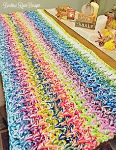 Week 2 - Scrap Busting Scrapghan Crochet Along from Beatrice Ryan Designs Scrap Yarn Crochet, Easy Crochet, Free Crochet, Crochet Pouch, Knit Crochet, Yarn Projects, Crochet Projects, Afghan Crochet Patterns, Crochet Afghans
