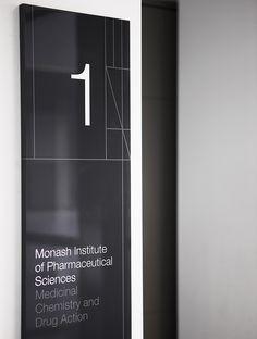 Monash Pharma Signage Program / Hofstede