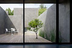 yoga deck for atrium Pergola Designs, Patio Design, Exterior Design, Garden Design, Outdoor Areas, Outdoor Rooms, Outdoor Living, Indoor Outdoor, Atrium