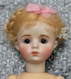 Bleuette size A.MARQUE Reproduction doll by BRANKA SCHARLI