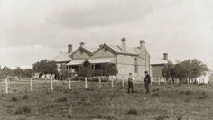 Jamestown Hospital in South Australia. •State Library of South Australia•  🌹