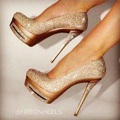 Super sexy Gold heels