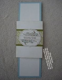 Stampin' Up! Card by Mandy Reedyk - kidscollage