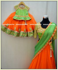 # Mom and Me designs in Bangalore by Angalakruthi-Ladies and kids designer boutique  #Custom designs wit online service watsapp:8884346333/8884347333