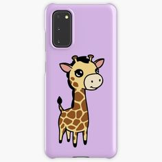 """Cute baby giraffe "" Case & Skin for Samsung Galaxy by jakezbontar   Redbubble Samsung Cases, Samsung Galaxy, Phone Cases, Protective Cases, Giraffe, Cute Babies, Wraps, Baby, Felt Giraffe"