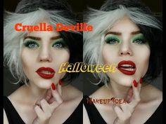 Cruella Deville Halloween Tutorial - YouTube