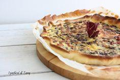 Questa la mia proposta di oggi: semplice, veloce e di stagione: Brisè con ricotta di capra radicchio e pancetta http://www.ipasticciditerry.com/torta-salata-brise-con-ricotta/