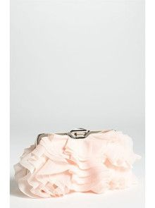 Ruffled Fabric Clutch WeClickd.com - The Social Network for Weddings