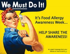What good is Food Allergy Awareness Week if you're already aware? Share this video from FARE and Mylan. Allergies Funny, Nut Allergies, Tree Nut Allergy, Peanut Allergy, Egg Allergy, Teal Pumpkin Project, Allergy Asthma, Taken 2, Allergy Free