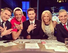 Dave, Sam, Charlie, Carrie & Andrew #theprojecttv