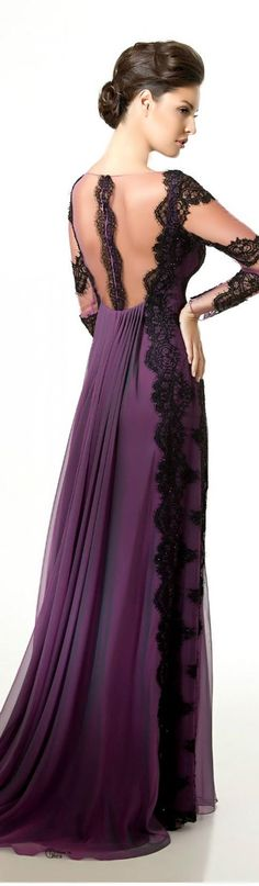 Saher Dia Couture purple jaglady