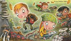 Go on a Mushroom Safari this fall - activity from Rnger Rick magazine