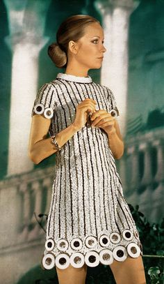 Love this dress - I would wear today - CL August 2103    Harry Algo, 1970