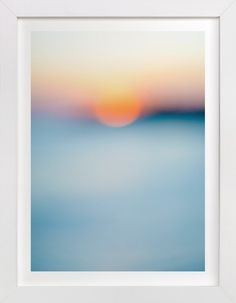 Sunset Study by Jessica Cardelucci at minted.com