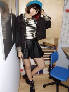 roxy.yロシBoots「Jeffery Campbell 」Styling looks