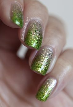 Ombre sparkle nails – YES PLEASE!