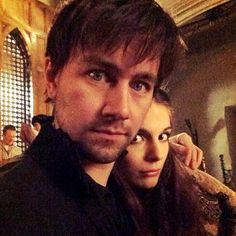 Reign Behind the Scenes - Bash (Torrance Coombs) and Kenna (Caitlin Stasey)