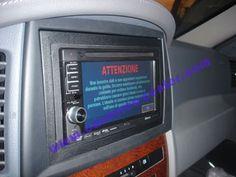 Telecamera posteriore e navigatore su Gran Cherokee Jeep Grand Cherokee, Software, Usb
