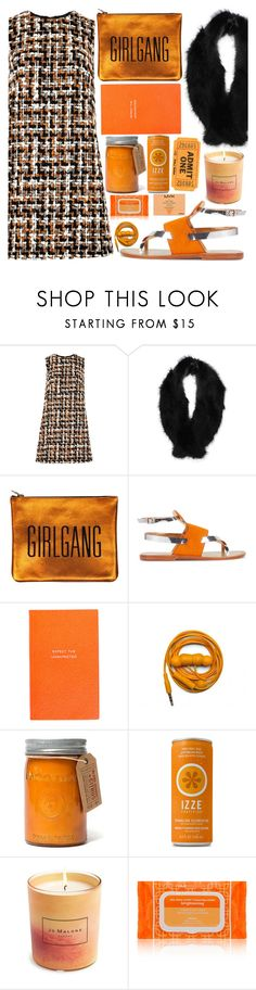 """""""Girl gang"""" by floralandmay ❤ liked on Polyvore featuring Dolce&Gabbana, Pilot, Sarah Baily, Sanchita, Smythson, Urbanears, Paddywax, Jo Malone, Ole Henriksen and NYX"""