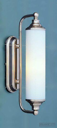 Vintage Bathroom Lighting Antique Mid 30s Chrome Vintage