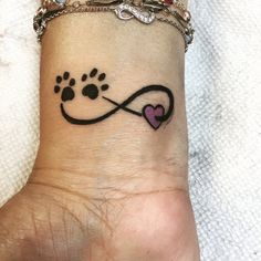 My tattoo in honor of my dog, Chewy!