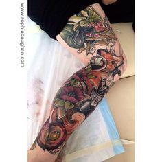 Ink It Up Trad Tattoos Blog   sophia baughan